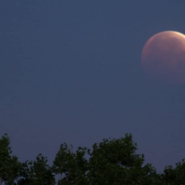 Lunar Eclipse over the Rio Grande