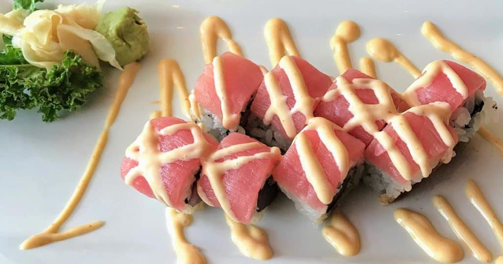 Sushi rolls from Koon Manee Jupiter in Florida